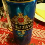 バルチカ ロシアビール(アルコール4.5)