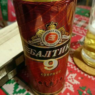 バルチカ ロシアビール(アルコール8%)