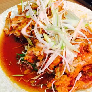 油淋鶏(マルヤス酒場 御徒町店)