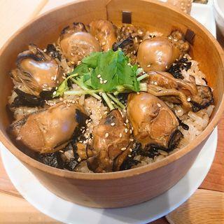 牡蠣 わっぱ飯(ムスムス (MUSMUS))
