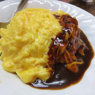 ミニオムライス(あづま屋担々麺 悠泉)