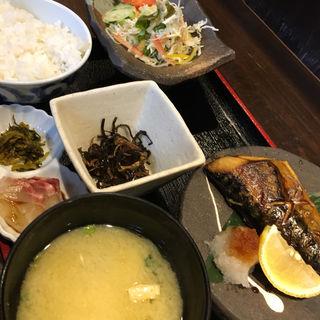 塩鯖定食(博多 酒佳蔵)