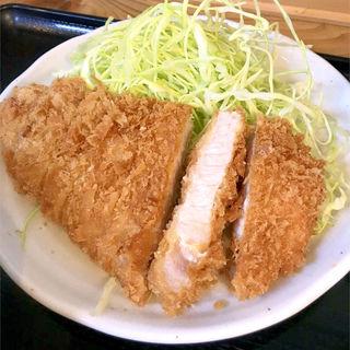 ロースカツ定食(とんかつ まるや )