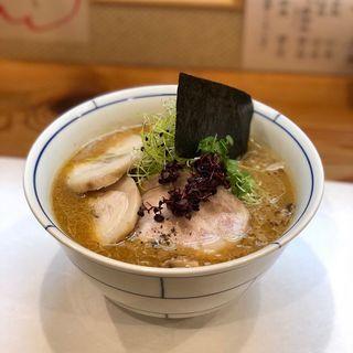 味噌ラーメン(別邸三く 中華㐂蕎麦 萃)