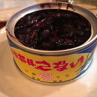 イナゴの甘露煮