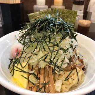 全部のせまぜ麺  バータートッピング(マゼ麺ドコロ ケイジロー )