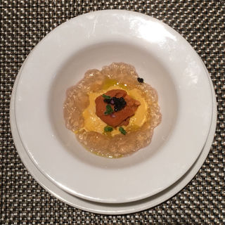 雲丹とキャビアのジュレ(ブラッスリー ハルナ (HARUNA brasserie))