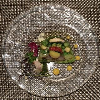 有機野菜の彩りテリーヌ(ブラッスリー ハルナ (HARUNA brasserie))