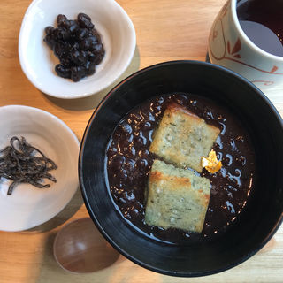 小豆汁粉(花園茶寮)