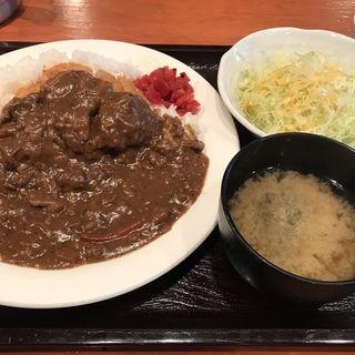 ヒレカツカレーセット(神田 とら八 (かんだ とらはち))