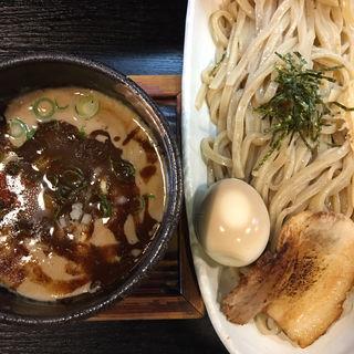 つけそば ストロング + 煮玉子(豚そば ぎんや 黒川本店 (ぶたそば ぎんや))