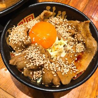 豚玉丼(金澤濃厚豚骨ラーメン 神仙 品川品達店)