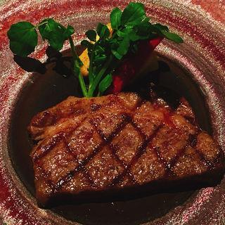 飛騨牛のグリル(Dining&Bar TABLE9TOKYO)