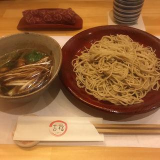 鴨南ざる蕎麦(古拙 (こせつ))