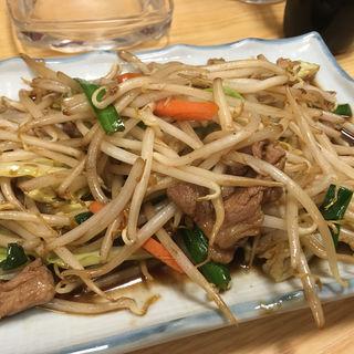肉野菜炒め(大露路)