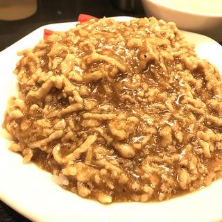 肉あんかけチャーハンカレー味(肉あんかけチャーハン炒王神田店)