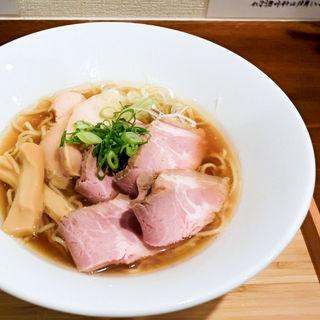 煮干し醤油らぁ麺+チャーシュー