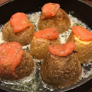 じゃが芋の明太子バター(山内農場 なんば千日前店 )