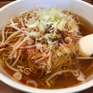 担々麺焼飯セット(中華料理 鉄人 )