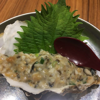 生牡蠣なめろう(酒場のんき)