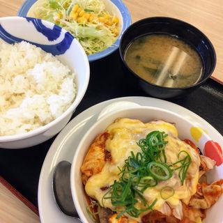 チーズタッカルビ定食(松屋 豊橋藤沢町店 )