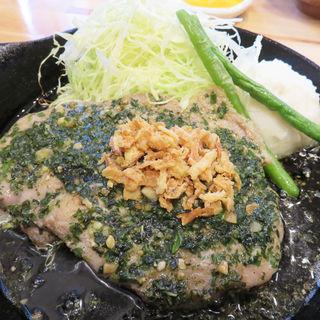 鉄板トンテキ定食 200g(ポルコ)