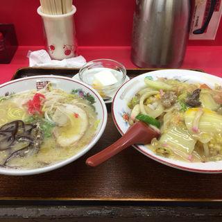中華丼+ラーメン(光昇園)