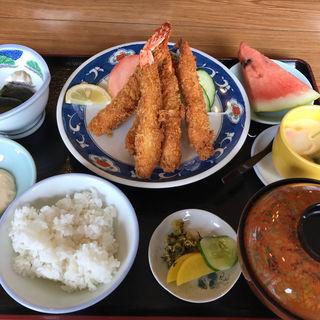 海老フライ定食(ニュー満寿美 (マスミ))