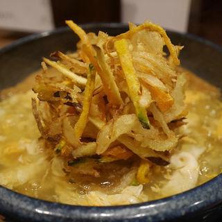 鶏卵かき揚げ(讃岐麺屋 あうん )