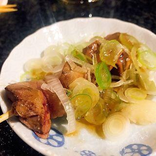 白レバー炙り(日馬屋 (ハルマヤ))
