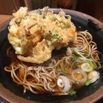 かき揚げそば(そば田 新橋店 (【旧店名】丸山製麺))