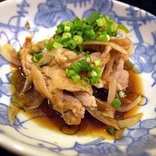 地鶏皮ポン酢和え(麺屋 いっこく )