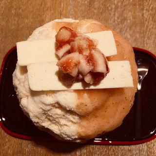 イチジクと白みそチーズみるく(古美珈琲 (COBI COFFEE))