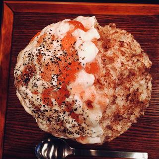いちじくチーズはちみつ&マサラチャイ(かき氷Ryan )