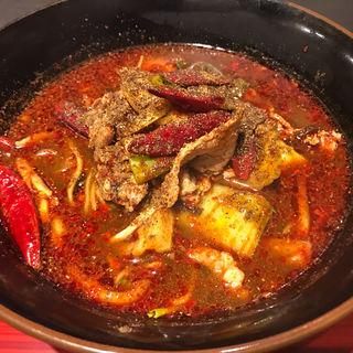 火鍋湯麺(ファイアーホール陳)