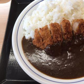 カツカレー大盛(かつや 札幌すすきの店)