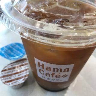 アイスコーヒー(ガムシロ、ミルクあり)(はま寿司 金閣寺店)