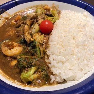 エビ野菜カリー(カリーライス専門店エチオピア 本店 )