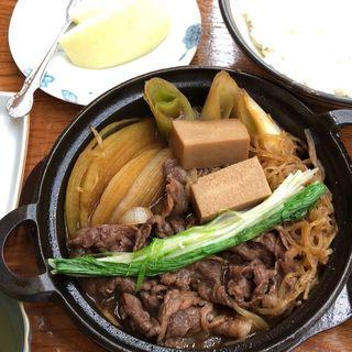 すき焼鍋御膳(すき焼割烹 吉澤)