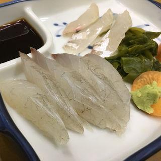 コチの刺身(うずしお食堂 )