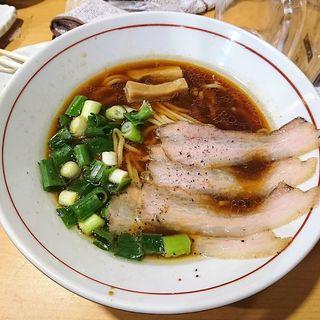 中華そば(醤油と貝と麺 そして人と夢 )