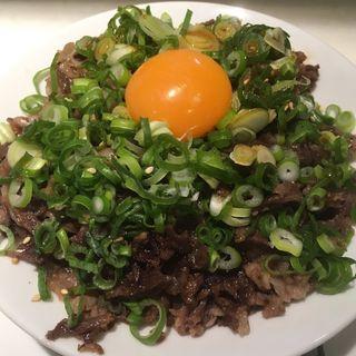 焼肉丼(天神肉食堂)