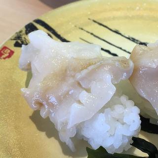 赤バイ貝(お魚天国 すし若竹内団地2号店 )