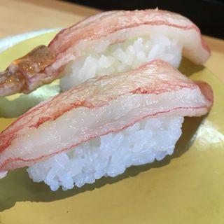 特上松葉蟹(お魚天国 すし若竹内団地2号店 )