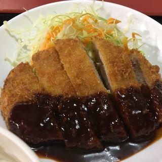 とんかつ定食(但馬ラーメン 六地蔵店 )