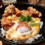 鶏唐柚子胡椒丼