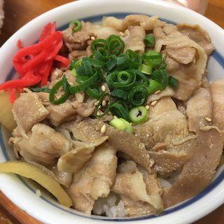 豚飯(ちばき屋)