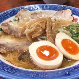 ラーメン並(大黒ラーメン 東福寺店)