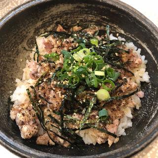 チャーシュー丼(麺物語 つなぐ)