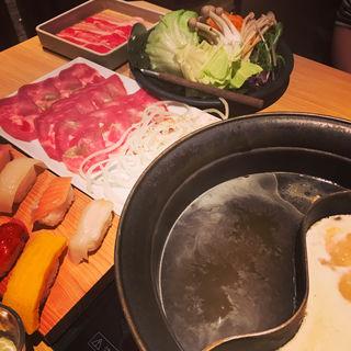 山椒塩香る豚のたんしゃぶ食べ放題(しゃぶしゃぶ 温野菜 綾瀬店 (しゃぶしゃぶおんやさい))